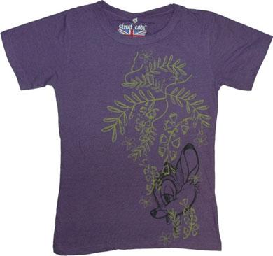 Purple Bambi T-Shirt from Street Code