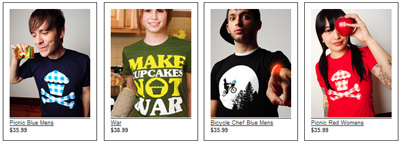 Johnny Cupcakes Shirts