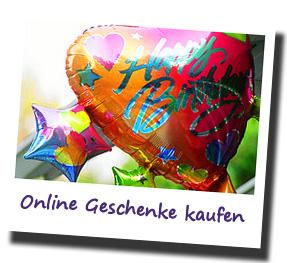 Geschenke online kaufen