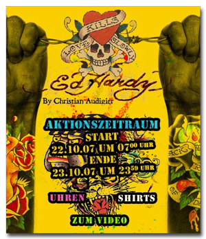 Ed Hardy bei brands4friends