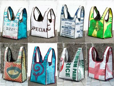 Tue Gutes und kaufe eine Tasche
