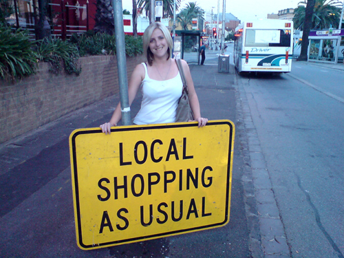 Local Shopping As Usual