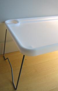 Ikea Tisch als Fotohintergrund