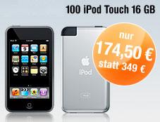 50% sparen: iPod Touch und BuyVIP