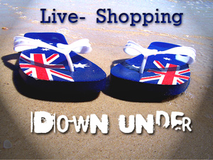 Live-Shopping Down Under
