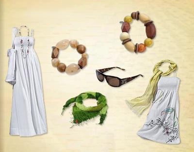 Hippie-Kleid