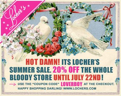 Locher's Summer Sale