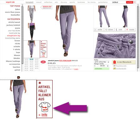Sitzt, passt, wackelt & hat Luft: Ein Online Shop lernt mit
