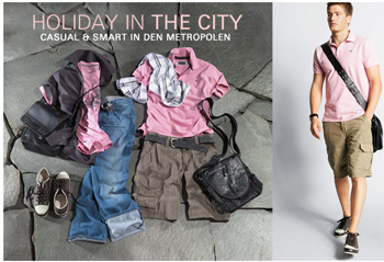 Holiday in the city