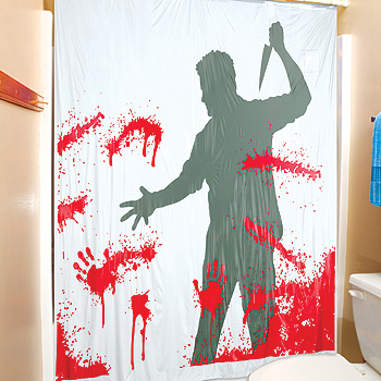 Der psycho killer in deinem badezimmer shoppingverse for Coole duschvorha nge