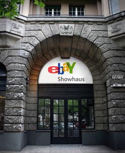 Geschichten von Produkten & Verkäufen: Das eBay Showhaus