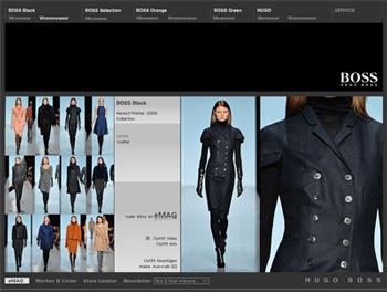 Hugo Boss eröffnet Online-Shops