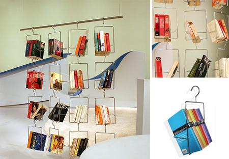 Das schwebende Bücherregal