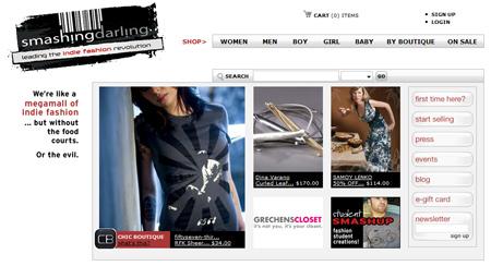Die Mega-Mall der Indie Fashion: Smashing Darling