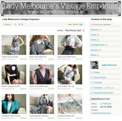 Lady Melbourne's Vintage Emporium