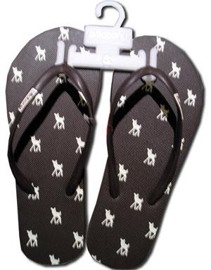 Meine neuen Bambi Flip Flops