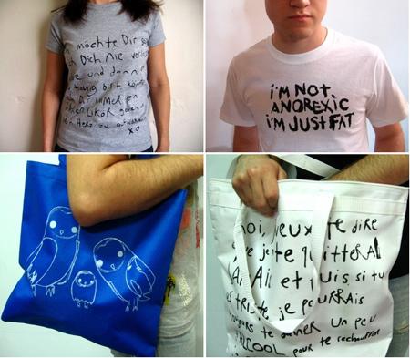 Cubist Literature: Sprücheklopfer-Shirts
