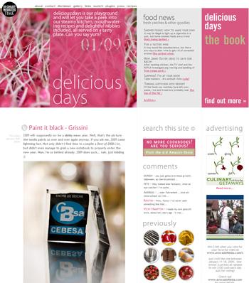 Lesestoff für faule Sonntage: delicious days