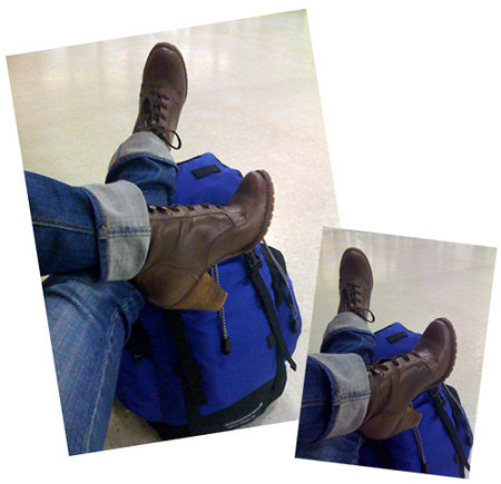 Backpacking in High Heels