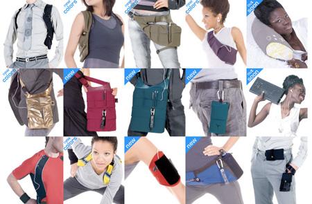 Taschen für Bewegungsfreudige