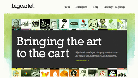 Dein eigener Online-Shop – BigCartel