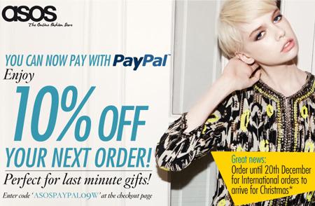 PayPal bei ASOS