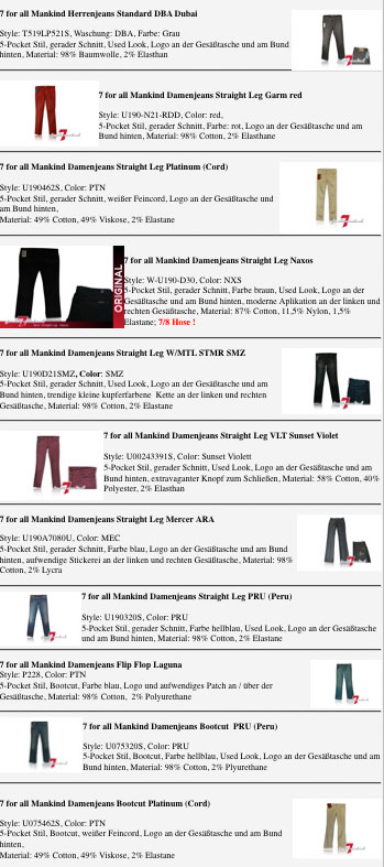 7-For-All-Mankind-Modelle