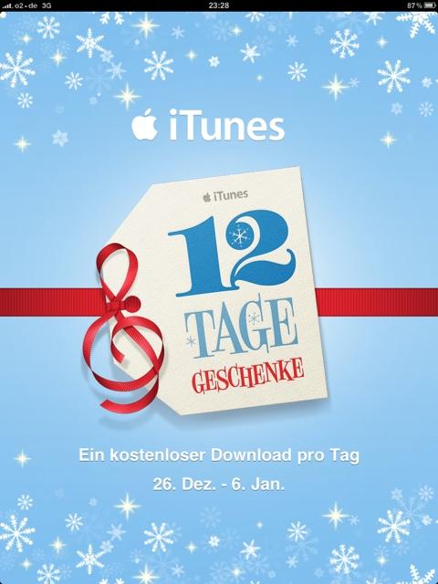 12 Tage – 12 Geschenke