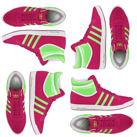 Adidas Sleek Series in Shoppingverse Pink