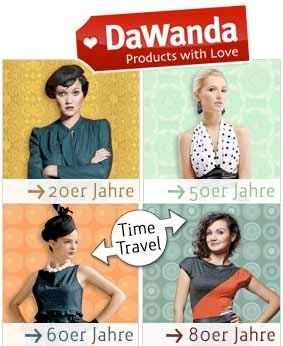 DaWanda Vintage Shopping – Eine Zeitreise durch die Mode