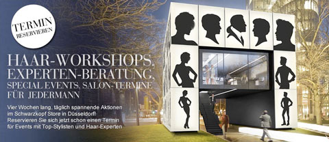 Ein Haar-Tempel für Düsseldorf