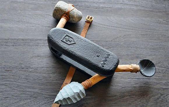 Das Schweizer Messer gab es schon zur Steinzeit