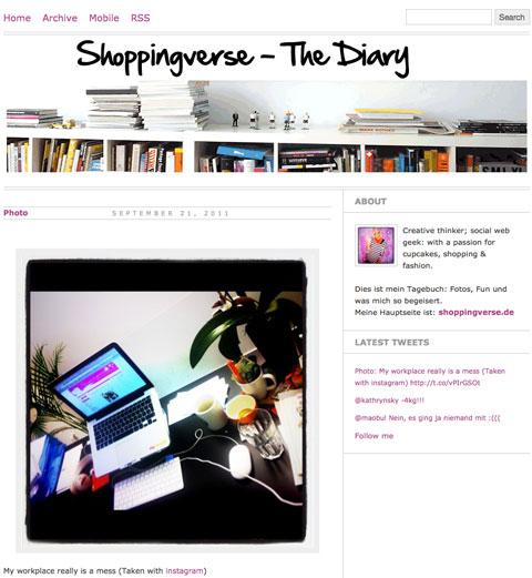 Shoppingverse The Diary – Ich werde jetzt privat!