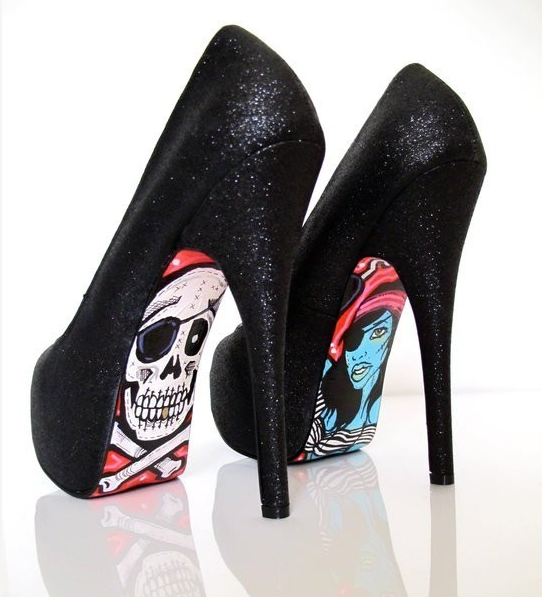 high heel sole designer
