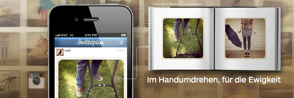 Instagram Buecher mit Blurb