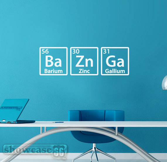 Bazinga Wandtattoo Big Bang