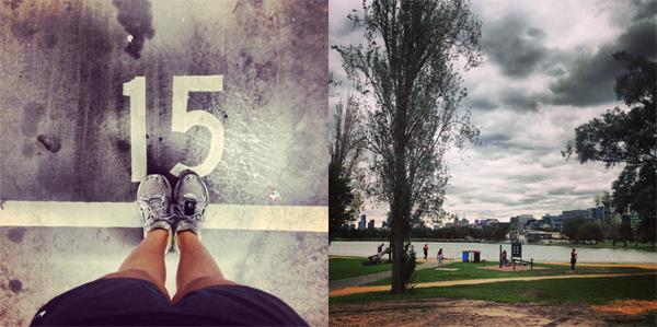 Running-in-Melbourne