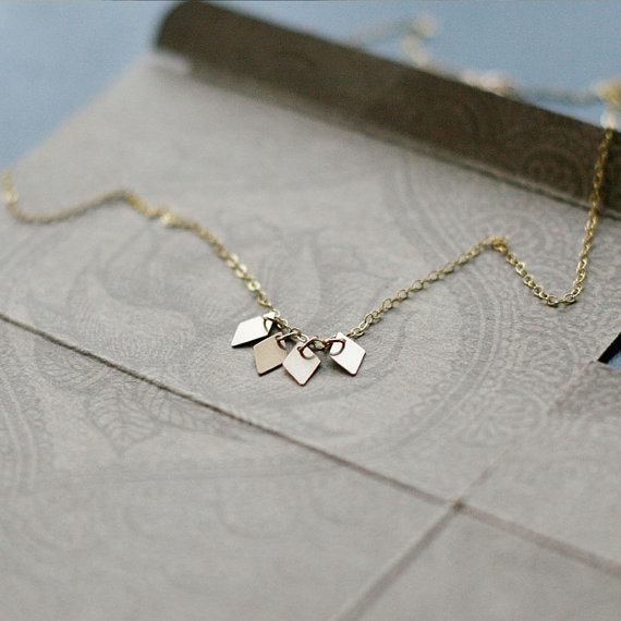 modern_gold diamond tag necklace