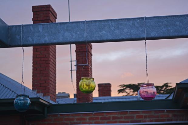 Balkon-Lichter