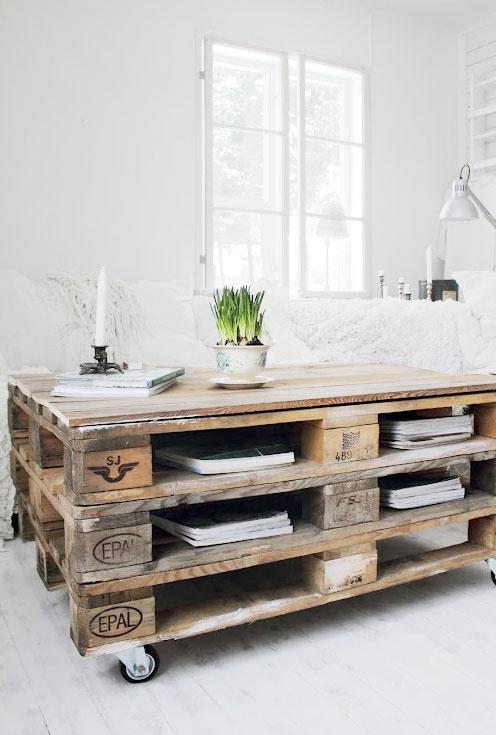 Paletten wohnzimmer tisch 10