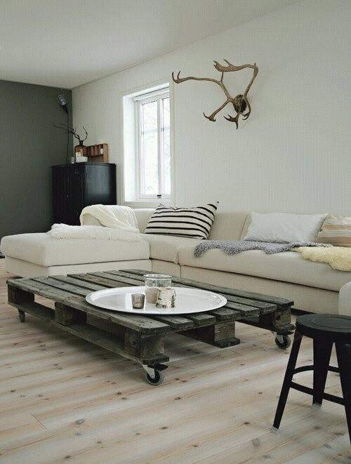 Paletten wohnzimmer tisch 13