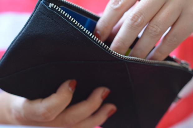 Portemonnaie-clutch