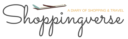 Shoppingverse - A Diary of Shopping and Travel