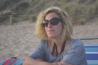 Sandra-at-Portsea-back-Beach