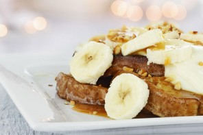 Honeyed walnut & banana toast