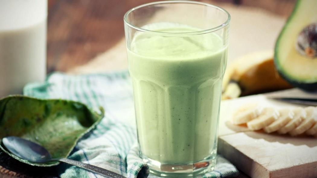 breakfast smoothie banana avocado