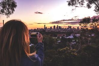 Sandra and the skyline-2